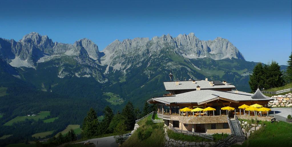 Almhütte und Skihütte Ellmau mit Ferienwohnungen - Brenneralm